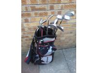 2 Sets of Golf Clubs with Bags