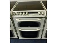 £180 Hotpoint 60cm Cooker - 12 Months Warranty