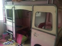 Girls campervan bed