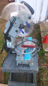 DELTA  MITRE  SAW WITH STAND