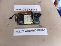 "Apple iMac A1173 A1174 A1207 A1208 G5 A1144 A1145 17"" 20"" 185W Power Supply"