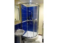 Showerlux Shower Doors and Tray