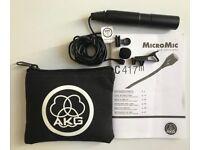 AKG C417 PP Black Professional Lavalier Microphone