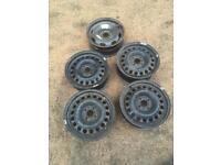 "15"" Vauxhall steel wheels"