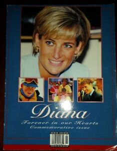 DIANA FOREVER IN OUR HEARTS 1998 ISSUE WITH PHOTOS