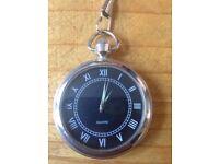 Quartz pocket watch, never worn/used