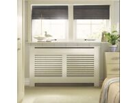 BRAND NEW AND BOXED COLOURS NEW SUFFOLK LARGE WHITE RADIATOR COVER (RRR £100)