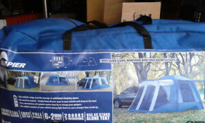 Tent for SUV's, CUV's, Minivans and Trucks with caps