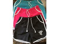 New ladies sports shorts medium/large