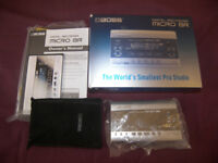 BOSS Micro BR Digital Recorder.