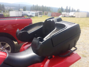 Rear Atv Seat/backrest with Handwarmers