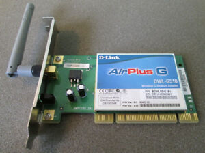 D-Link DWL-G510 Wireless-G PCI Card