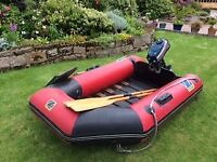 Zodiac 3.4m dingy with 3.5hp Yamaha outboard