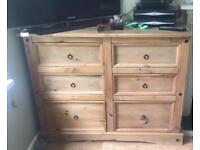 Mexican Pine Drawers