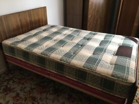 1950s Vintage Double Bed
