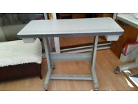 Industrial Sewing Machine Table Stand on Wheels