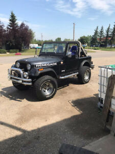 jeep renegade 1986 cj7 v8 360 project to be completed
