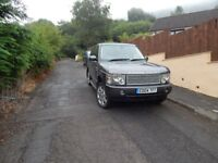 For sale Range Rover Vogue, good condition throughout with LPG gas conversion.