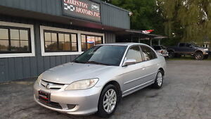 2005 Honda CIVIC VERY CLEAN! SAFETIED ETESTED ONLY  $2499+taxes