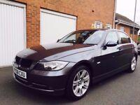 2008 BMW 3 Series 330d 230BHP 3.0 Turbo Diesel+Manual+FSH+185k+M Sport Alloys not 320 335 530 a4 td