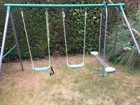 Childrens swing set by 'PLUM'