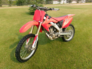 2008 Crf 250r hardly used