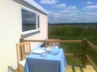Last minute availability - Stay on a Devon Farm - Holiday Lodge sleeps 4 + 1 - £395 Bargain