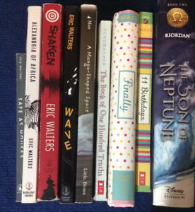 Assorted Books for Pre-Teens and Teens