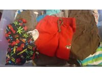 Bundle of mostly summer baby clothes 12-18 months