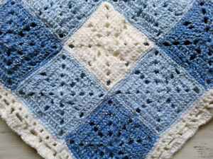 Hand Knitted Baby Booties and Blankets