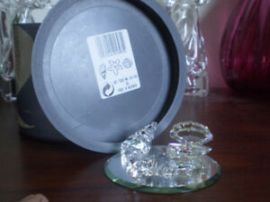 "Swarovski Crystal Figurine -  "" Maritime Trio "" -"