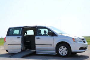 2011 Dodge Grand Caravan with Braun Wheelchair Conversion