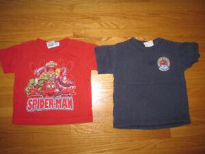 Boys size 2 Jackets, shirts and shorts