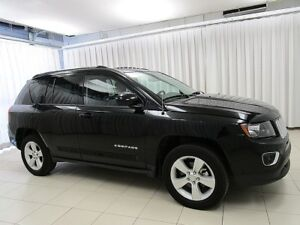 2016 Jeep Compass 4x4 SUV w/ HEATED LEATHER SEATS, SUNROOF, ALLO