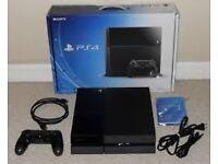 PS4 Original 500gb - matte black console. BOXED