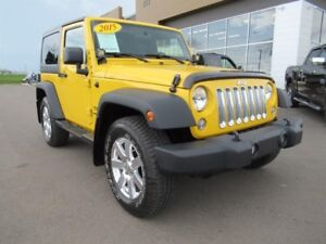 Jeep Wrangler 4WD 2dr Sport 2015