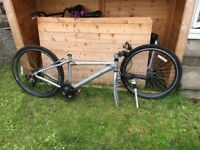 2 men's bikes for sale. One folding