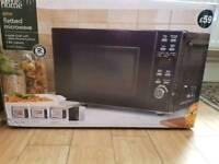 SOLD Black Microwave