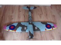 Radio controlled Dynam spitfire