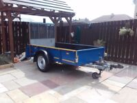 Refurbished Ifor Williams 1.5 ton plant trailer