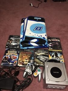 Nintendo Game Cube Bundle with RARE DDR mat