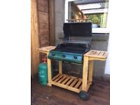 Outback Hunter Gas Barbeque with almost full 13kg calor gas canister