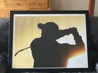Framed print of Tiger Woods