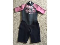 Childrens wetsuit age 6-8 years