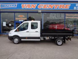 2015 FORD TRANSIT 350 L3 DOUBLE CAB TIPPER .... TIPPER DIESEL