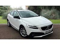 Volvo V40 2.0TD D2 ( 120bhp ) ( s/s ) Geartronic 2017MY Cross Country Pro WHITE