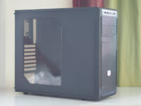 Cooler Master N300 Mid Tower Case with Side Panel Window and Original Box