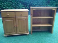 Pine Dresser with matching TV Cabinet