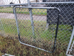 3' Chain link fence and gate