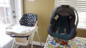 High chair awesome condition